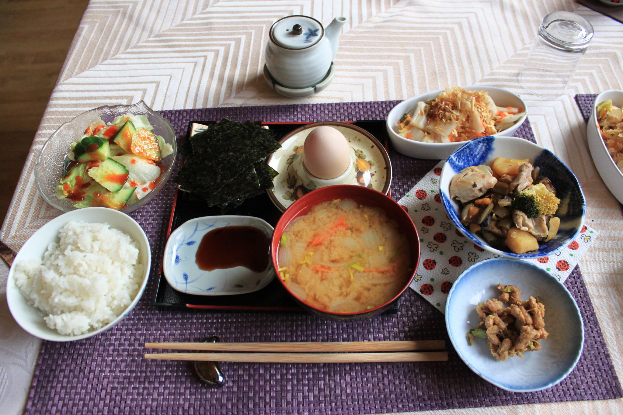 Japońskie śniadanie