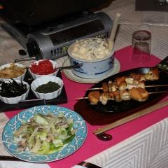 Jakitori i okonomiyaki czyli placki smażone na miejscu