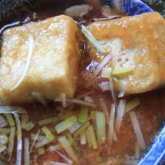Gedashi-tofu nakokot