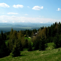 Panorama Tatr zVilli Akiko