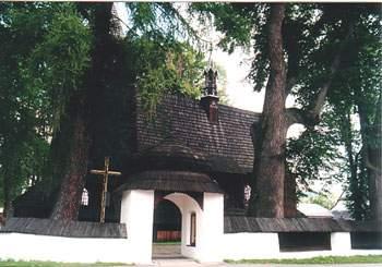 Gotycki kościół w Harklowej