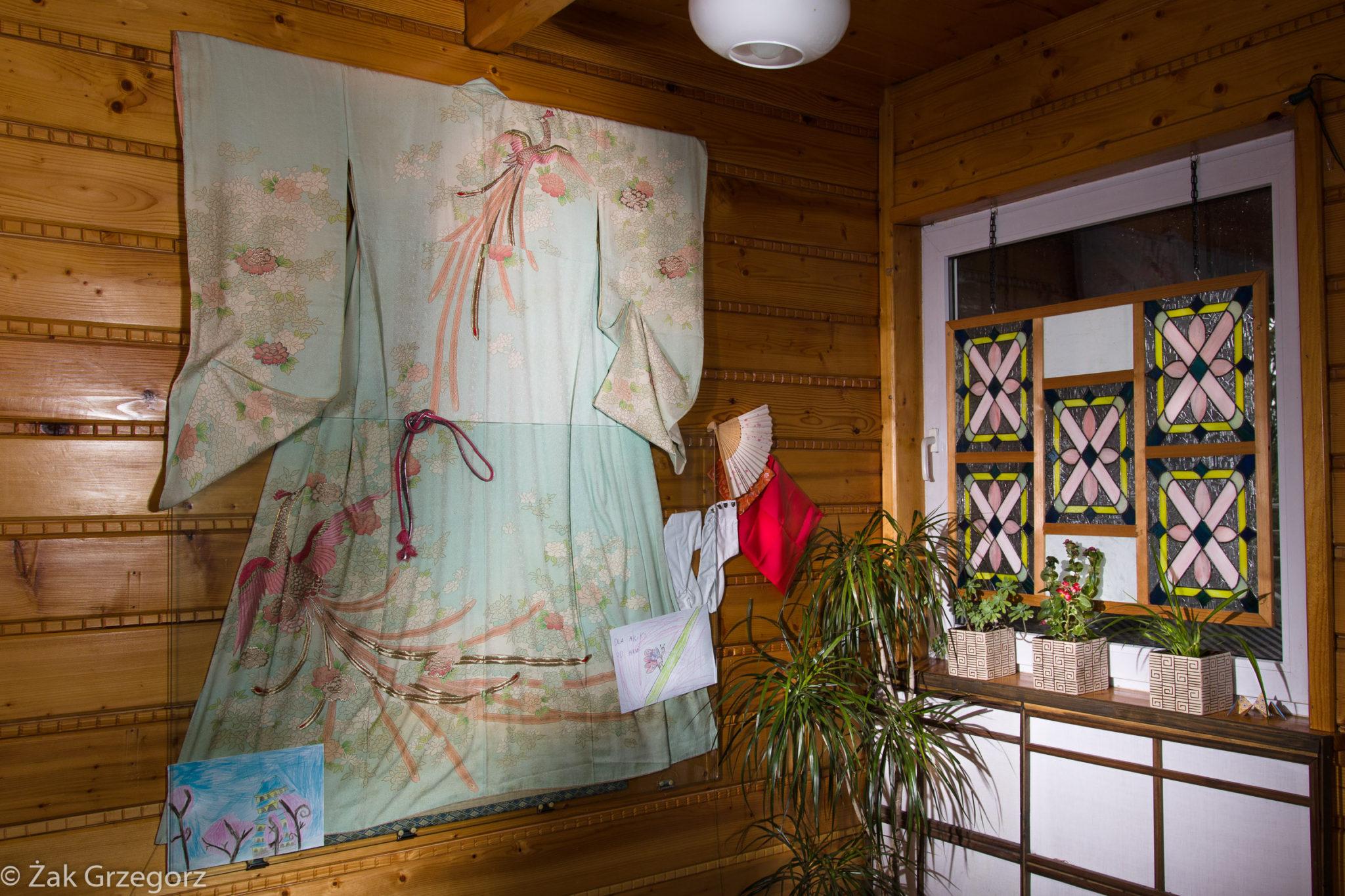 Jedwabne kimono, pamiątka rodzinna pobabci Akiko