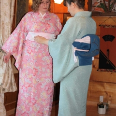 Pokaz ubierania kimona