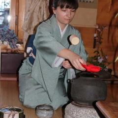 Ceremonia parzenia zielonej herbaty