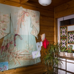 Jedwabne kimono, pamiątka rodzinna po babci Akiko