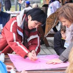 Zajęcia podczas pikniku z latawcami w Czorsztynie