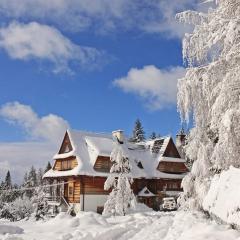 Villa Akiko w zimowej szacie